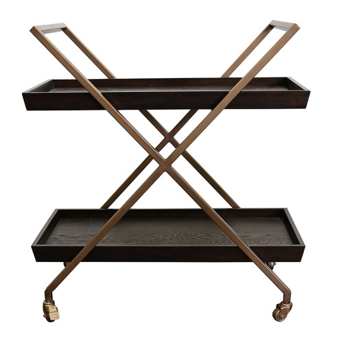 Monterey Bar Cart by Le Forge