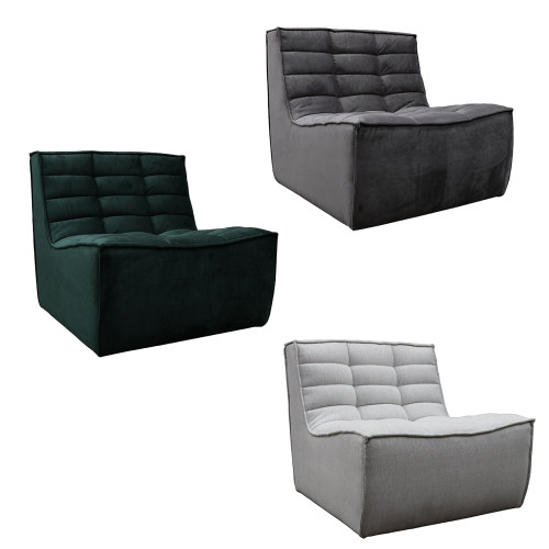 Salta Sofa 1 Seat by Le Forge