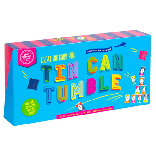 Tin Can Tumble by Professor Puzzle