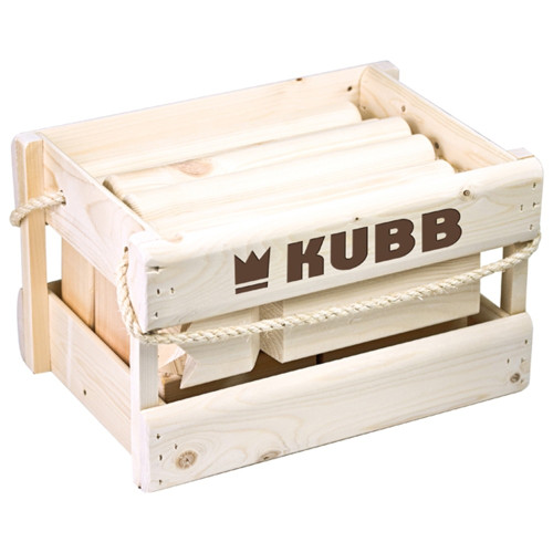 Kubb In Crate by Professor Puzzle