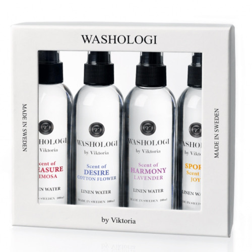 Linen Water 4 Pack by Washologi