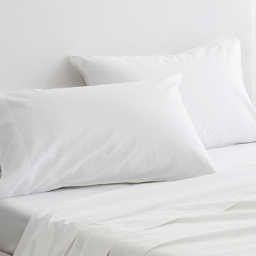 300 Thread Count Organic Cotton Percale Sheet Set by Sheridan