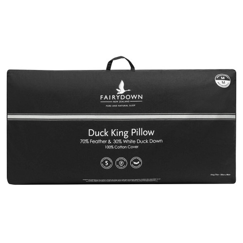 70/30 Duck Feather and Down King / Lodge Pillow by Fairydown