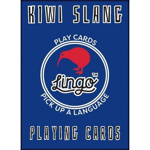 Kiwi Slang Lingo Playing Cards by Lingo