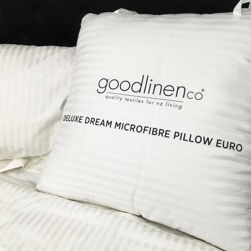 Deluxe Dream Microfibre European Pillow by Good Linen Co(R)