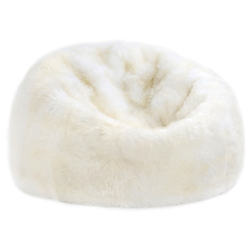 New Zealand Longwool Sheepskin Bean Bag by Fibre