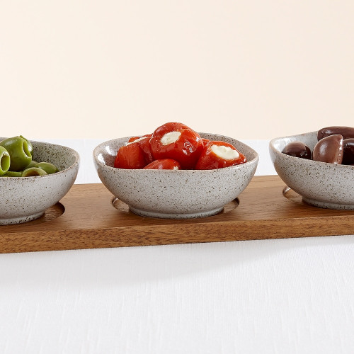 Artisan Shallow 4 Piece Bowl Set by Ladelle