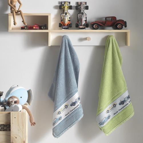 Car Kids Towels by Karsten