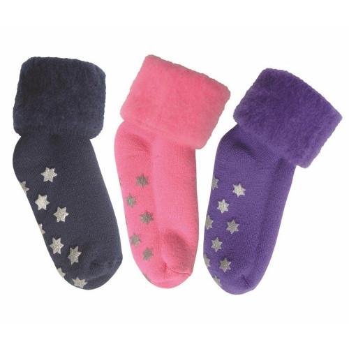 Kids Stars Tread Socks by Comfort Socks