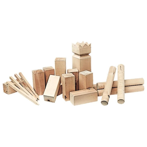 Super Wooden Kubb Set by easy days