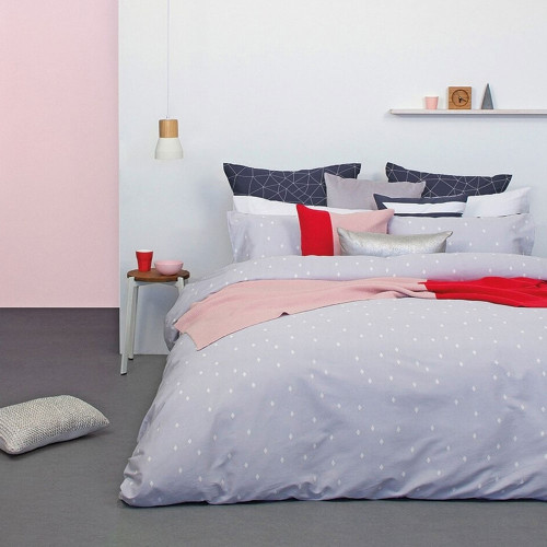 Aster Duvet Cover Set by Bambury