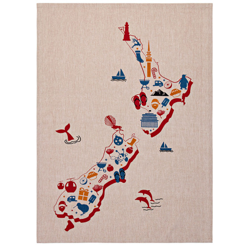 Our Place Tea Towel by Linens & More