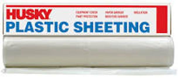 PLASTIC SHEETING 12' X 100' 4MIL CLEAR CF0412