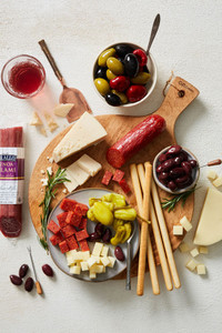 Italian Cheese Board Gift Box