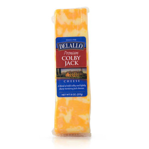 DeLallo Colby Jack Cheese Wedge 8 oz.