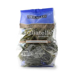 Spinach Tagliatelle Nest Pasta