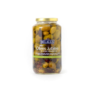 DeLallo Pitted Olives Jubilee 32 oz.
