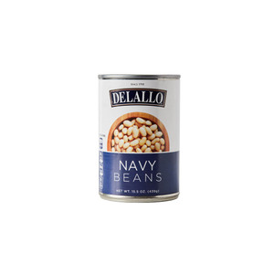 DeLallo Navy Beans  15.5 oz.