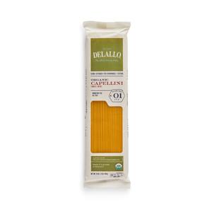 DeLallo Organic Capellini Pasta 1 lb.
