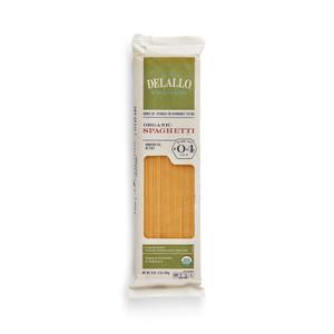 DeLallo Organic Spaghetti Pasta 1 lb.