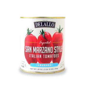 DeLallo San Marzano Style Crushed Tomatoes 28 oz.