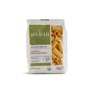DeLallo Organic Rigatoni Pasta 1 lb.