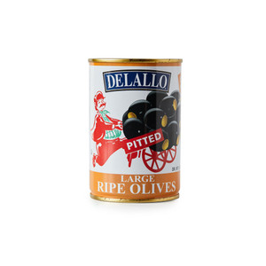 DeLallo Large Pitted Olives 6 oz.