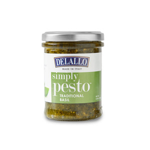 DeLallo Simply Pesto® Sauce - Traditional Basil 6.35 oz.