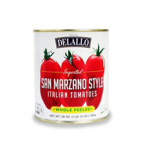 DeLallo San Marzano Style Whole Peeled Tomatoes 28 oz.