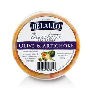 DeLallo Olive & Artichoke Bruschetta Cup 7 oz.