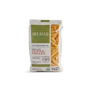 DeLallo Organic Penne Rigate Pasta 1 lb.