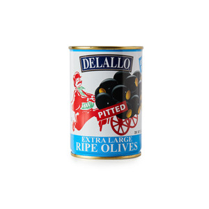 DeLallo Extra Large Pitted Olives 6 oz.