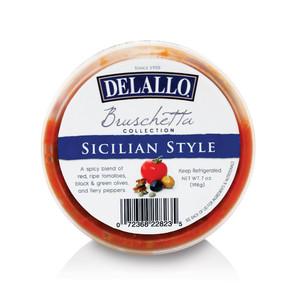 DeLallo Sicilian-Style Bruschetta Cup 8 oz.