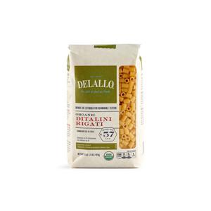 DeLallo Organic Ditalini Rigati Pasta 1 lb.