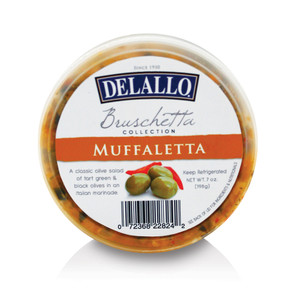 Muffaletta Bruschetta