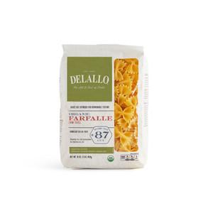 DeLallo Organic Farfalle Pasta 1 lb.