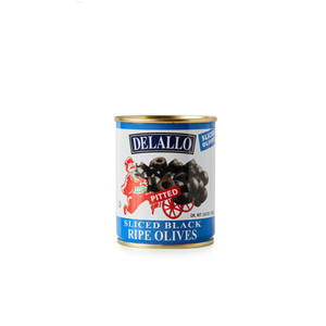 DeLallo Sliced Ripe Olives 3.8 oz.