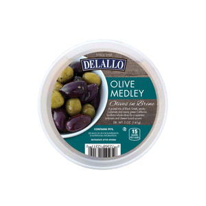 DeLallo Olive Medley Cup in Brine 5 oz.
