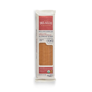DeLallo Organic Whole-Wheat Linguine Pasta 1 lb.