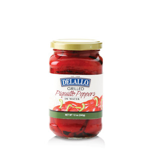 DeLallo Grilled Piquillo Peppers 12 oz.