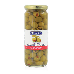 DeLallo Stuffed Manzanilla Olives 10 oz.