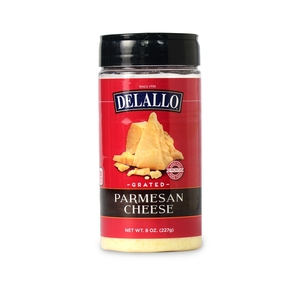 DeLallo Grated Parmesan Cheese  8 oz.