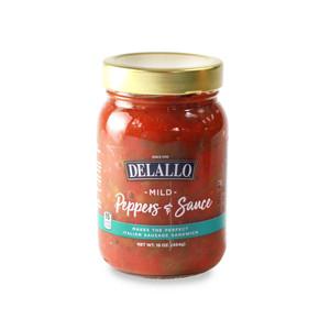 DeLallo Mild Peppers & Sauce 16 oz.