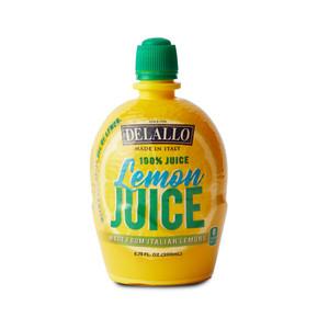 DeLallo Lemon Juice Plus  6.75 oz.