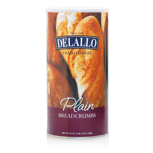 DeLallo Plain Breadcrumbs  24 oz.