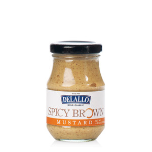 DeLallo Spicy Brown Mustard  4.25oz.