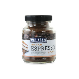 DeLallo Instant Espresso Coffee Powder 1.94 oz.