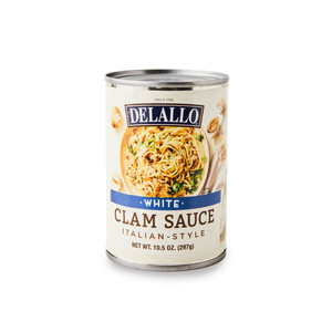 DeLallo White Clam Sauce  10.5 oz.