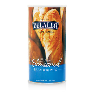 DeLallo Italian Seasoned Breadcrumbs 24 oz.