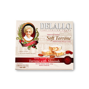 DeLallo Torrone (18 pc.) - 7 oz.